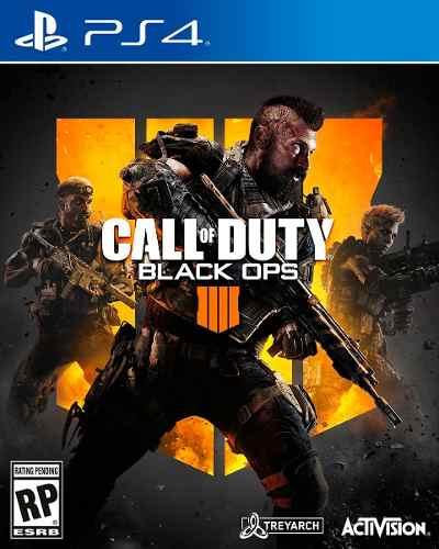 Ps4 - Call Of Duty Black Ops 4 - Juego Fisico (mercado Pago)
