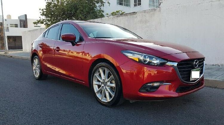 OPORTUNIDAD! MAZDA 3 SEDAN SPORT 2017 STD 4CIL DE LUJO FULL