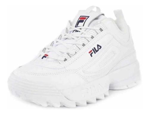 Tenis Fila Disruptor Clásico Blanco