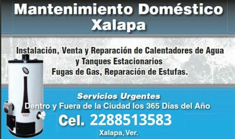 FONTANERÍA Y GAS DE XALAPA