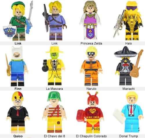 Figuras Armable Elige Tu Personaje Favorito Colección