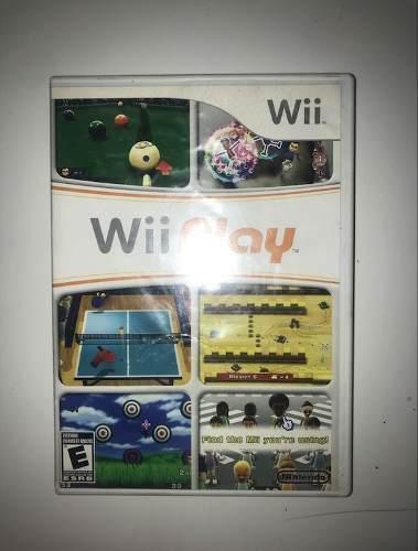 Juego Wii Play Para Wii O Wii U