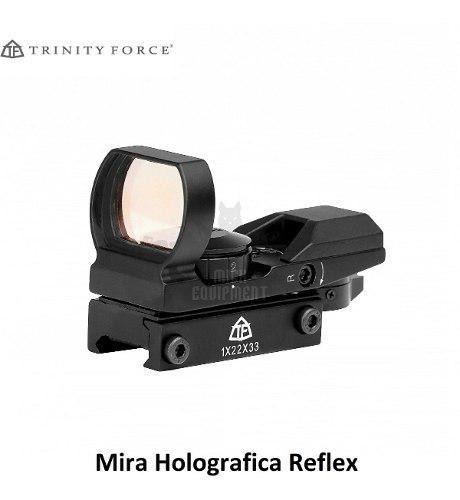 Mira Holografíca Reflex 4 Retículas Trinity Force