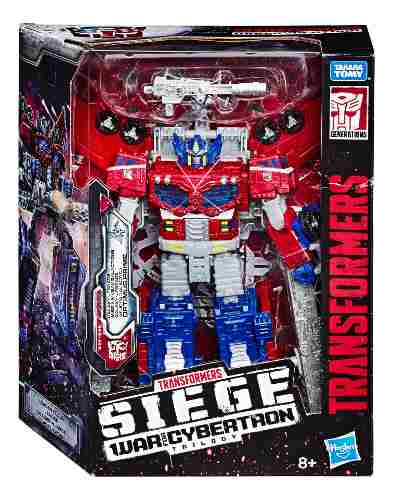 Transformers Optimus Prime War For Cybertron Leader