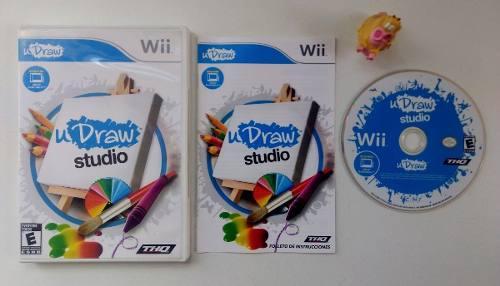 U Draw Studio (juego) Nintendo Wii * Mundo Abierto Vg *