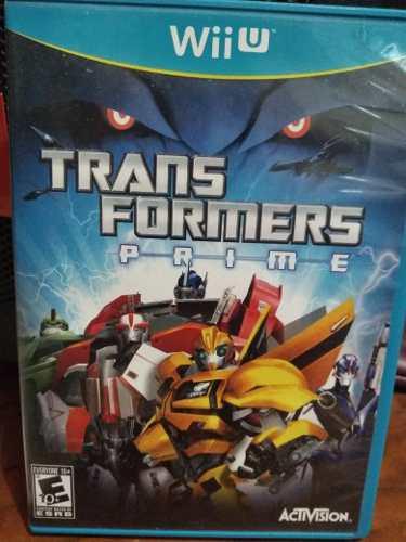 Video Juego Para Nintendo Wii U Transformers Prime