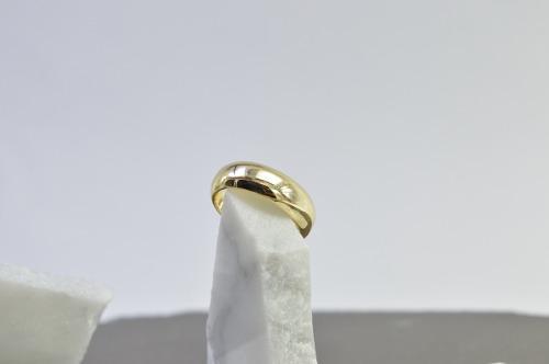 Argolla Anillo De Promesa O Matrimonio. Chapa De Oro 18k!