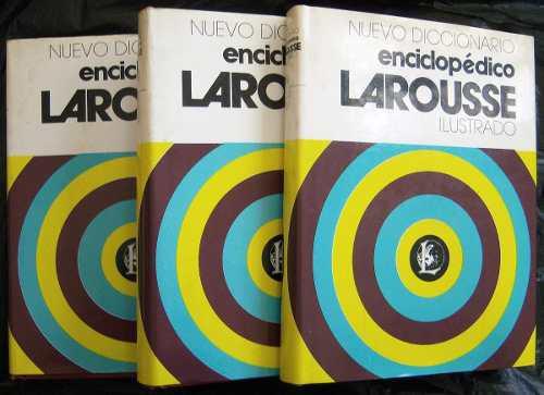 Diccionario Enciclopédico Larousse Del Año 1986 (3 Tomos)