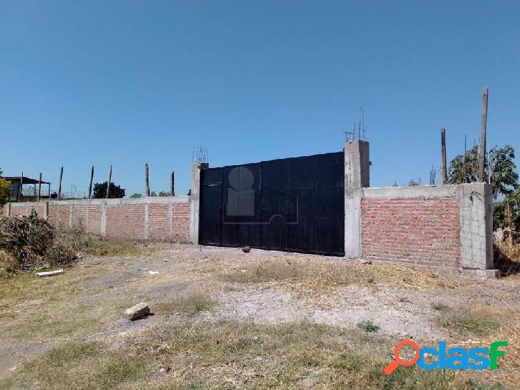 Terreno comercial en renta en El Guayabo, Irapuato,