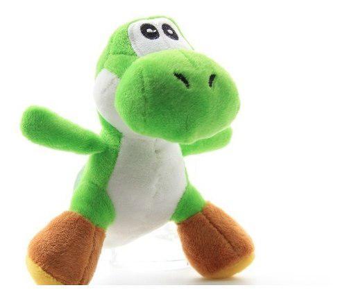 10 Peluches Yoshi Verde Lote 10 Piezas De 12 Cm Envío