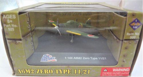 21st Century Toys A6m2 Zero Type 11/21 1:144 Japan Aircraft