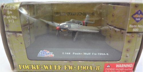 21st Century Toys Focke Wulf Fm-190a-8 1:144 German Aircraft