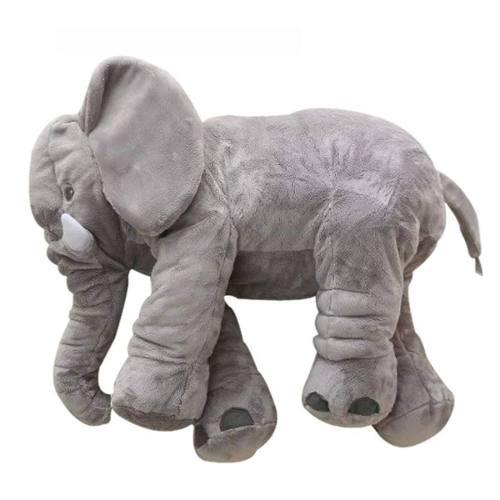 65 Cm Peluche Grande Elefante Almohada Suave Bebé Y Niños