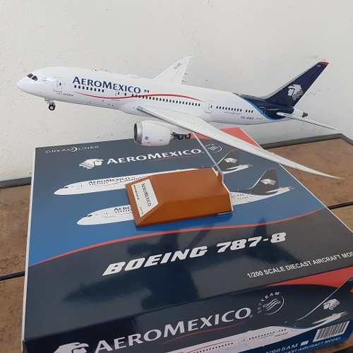 Aeromexico B787-800 Jc Wings 1/200 Amx La Laguna