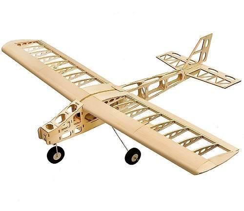 Avión Dw Hobby T2501 Ep Cloud Dancer De Madera Balsa