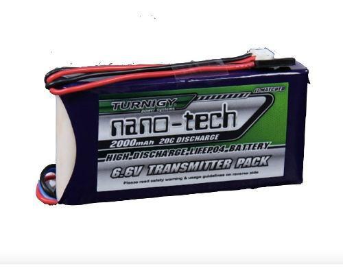 Bateria Life Lipo Turnigy 2000mah 2s 6.6v Receptor Futaba
