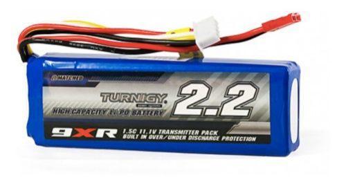 Bateria Lipo 2200mah 3s 11.1v Turnigy 9xr Radio Transmisor F