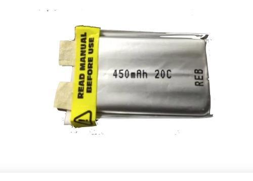 Bateria Lipo 450mah 3.7v 1s Zippy 20c Robotica 500mah Rc