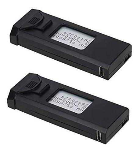 Bateria Visuo 900 Mah 3.7 Volt (paquete De 2 Baterias)