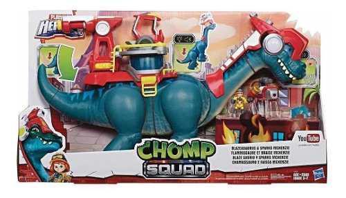 Blaze Saurio Y Sparks Mckenzie Chomp Squad 65 Cm Dinosaurio