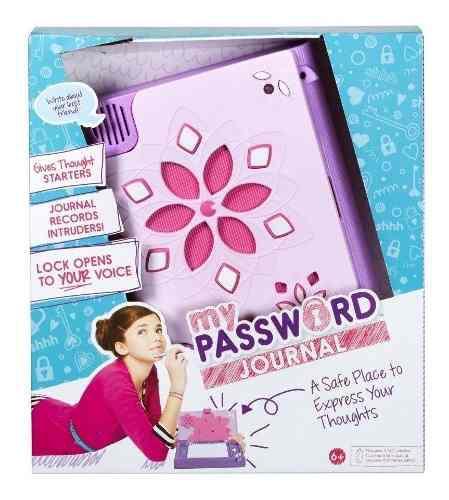 Diario Secreto My Password Activado Con Voz Nuevo Mattel