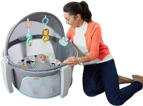 Domo Cuna Portatil Para Bebe Plegable Gimnasio Fisher Price