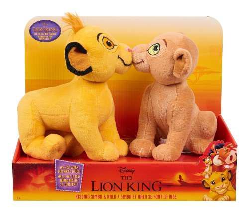 El Rey León - Peluches Disney Simba Y Nala- !!oferta!!