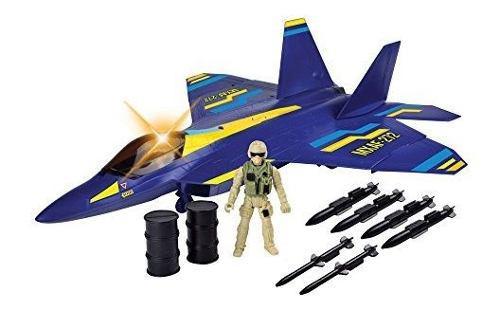 F22 Raptor Fighter Jet Playset 24l 11w