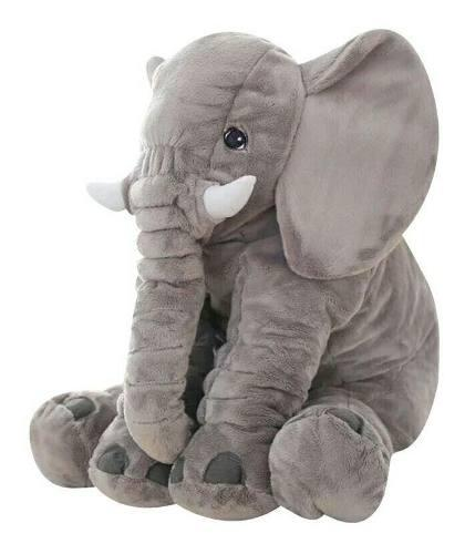 Grande Peluche Almohada De Elefante Bebes 65cm (42premios)