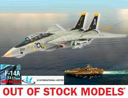 Jet Con Envío Gratis! Jsi ® F-14 Tomcat Esc. 1/18
