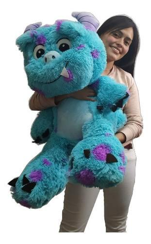 Peluche Sully Bebe Solivan Monster Inc Azul Sulivan Grande
