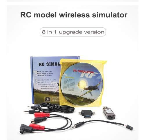 Startrc 8-en-1 Rc Flight Simulator Simulador Inalámbrico