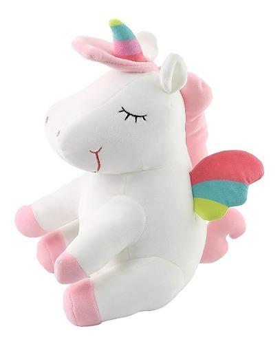 Unicornio Pony De Peluche Arcoiris Tipo Kawaii Pegaso