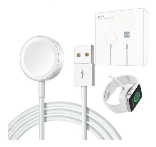 Cargador Cable Usb 2 En 1 Base Apple Watch + iPhone