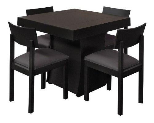 Comedor 4 Sillas Mueble Moderno Mesa Minimalista