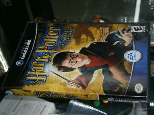 * Longaniza Games * Game Cube Harry Potter Chamber Of The Se
