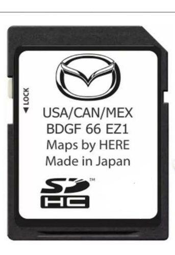 Tarjeta De Navegación Sd Mazda 3 2019-2020 Entrega