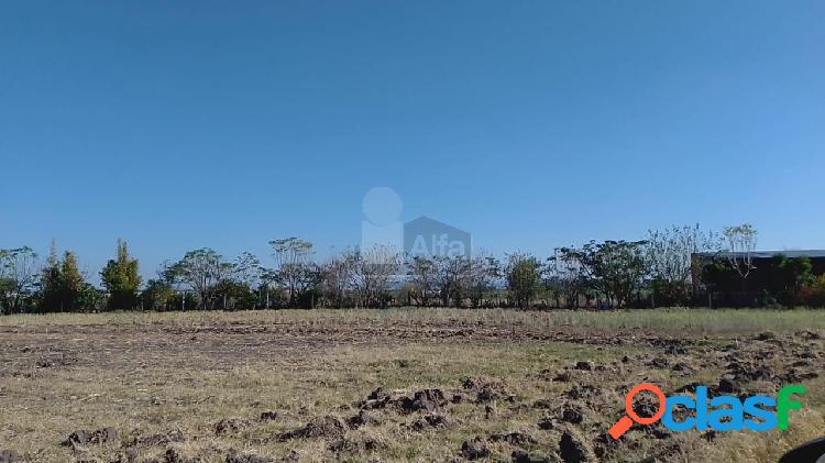 Terreno habitacional en venta en San José de Jorge López,