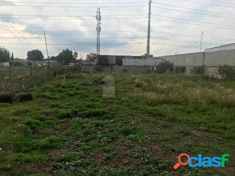 Terreno industrial en venta en San Sebastián Xhala,