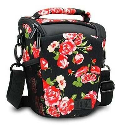 Slrdslr Camera Case Bag Con Accesorio De Carga Superior Homb