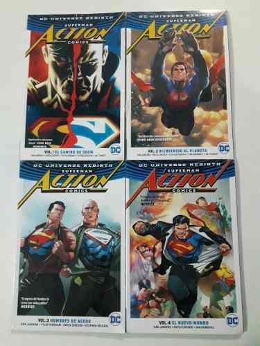 Action Comics Volumen 01 Al 04 - Dc Comics Rebirth Universe