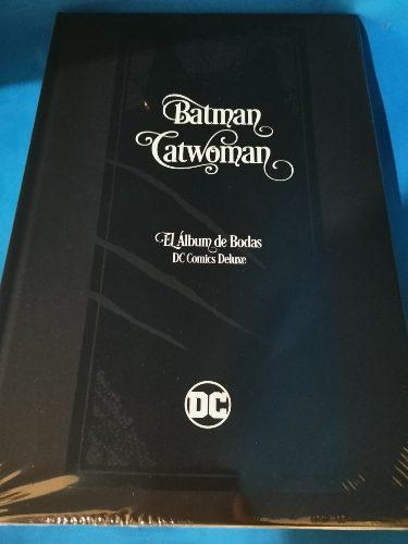 Batman Catwoman, El Álbum De Bodas Dc Cómics De Luxe.