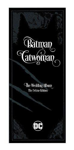 Batman Catwoman The Wedding Album Deluxe Dc Comics Libro
