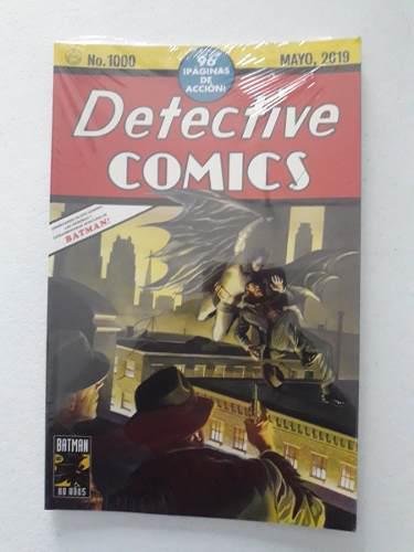 Batman: Detective Comics 1000 Portada Alex Ross - Dc Comics