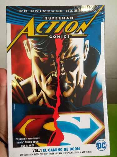 Comic Dc Rebirth Superman Action Comic Vol 1 Envio Gratis