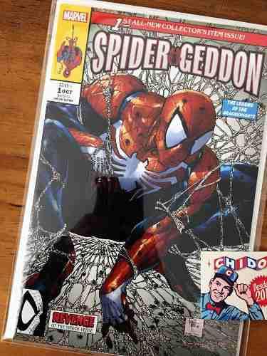 Comic - Spider-geddon #1 Cover A Coa Philip Tan