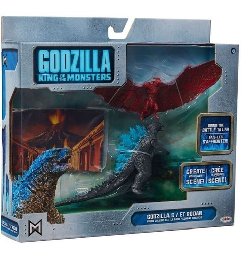 Godzilla King Of The Monsters Godzilla & Rodan