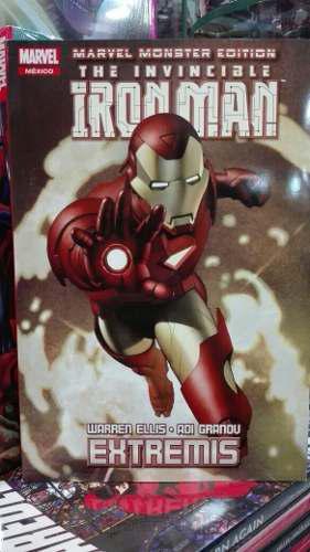 Marvel Cómics Iron Man Extremis Monster Edition Nuevo