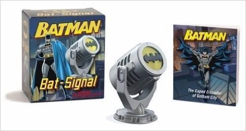 Mini Lampara Bati-señal Nueva De Colección Batman