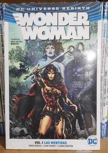 Rebirth Wonder Woman Vol. 1 Las Mentiras Smash En Español